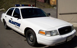 Delbarton Police Vehicle
